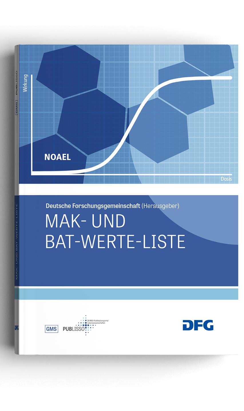Cover: List of MAK and BAT Values